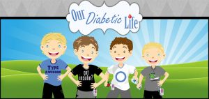 Our Diabetic Life logo, diabetes support