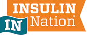 Insulin Nation logo, diabetes support