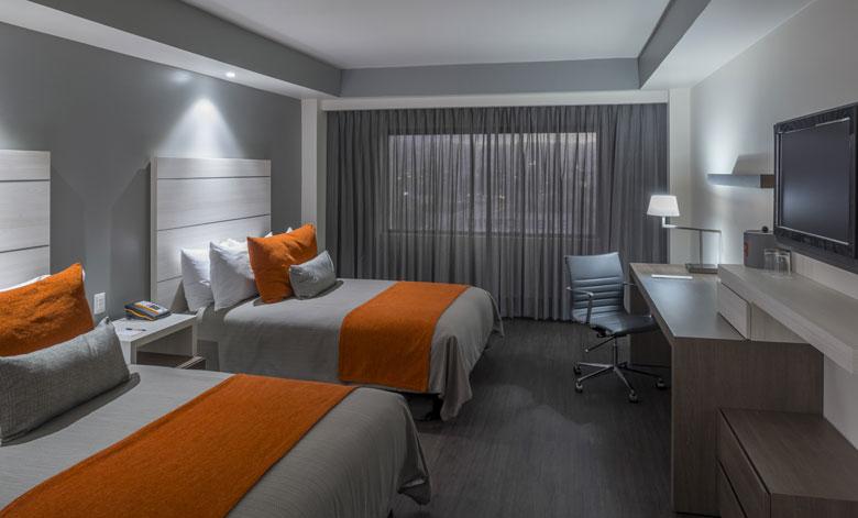 real inn hotel room
