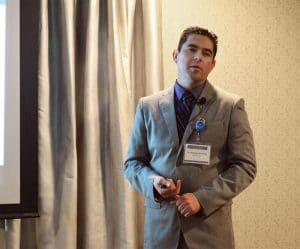 Dr. Alejandro Gutierrez speaking at Arlington, TX seminar on 5-27-2017
