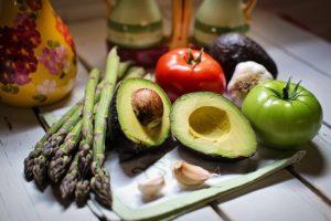 Gastric balloon diet, avocado.