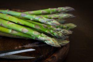 World Diabetes Day. Food for diabetes, asparagus