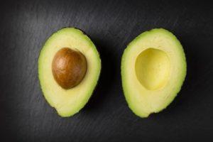 World Diabetes Day. Food for diabetes, avocado.