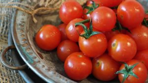 World Diabetes Day. Food for diabetes, tomatoes