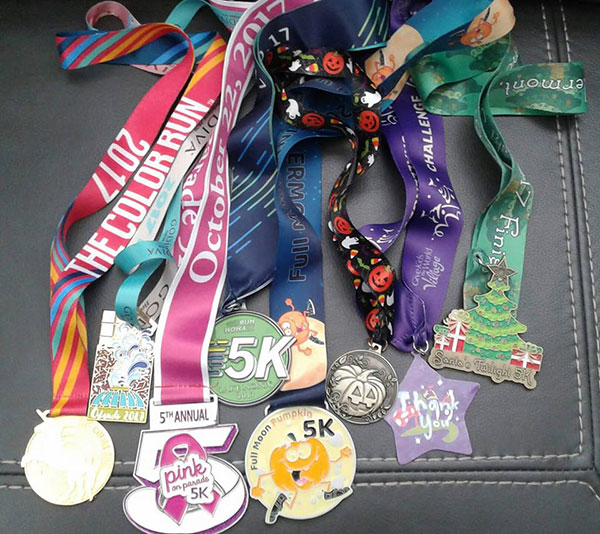 Mexico Bariatric Center. New You this New Year. Rebecca's 5k medals. Non-scale victory.