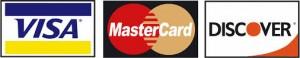 Visa, Mastercard & Discover